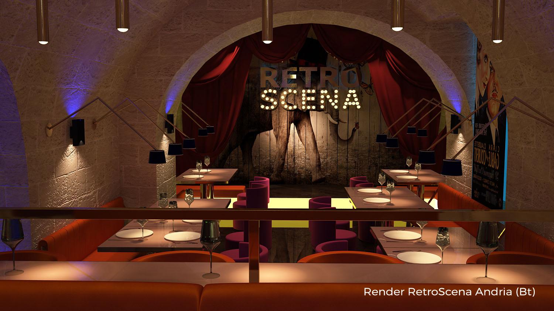 Render RetroScena Andria (Bt)